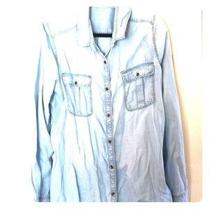 Halogen Chambray shirt size XL